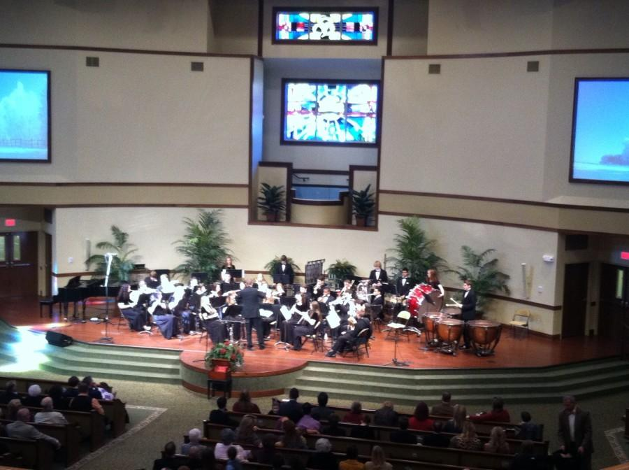 CA's Concert Band performs at Collegedale Community Church