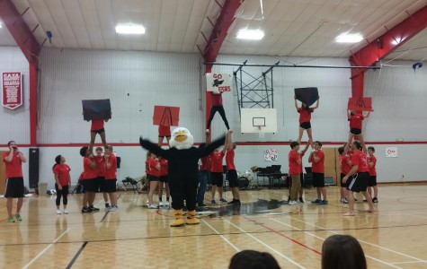 Collegedale Academy's Student Association holds first-ever pep rally