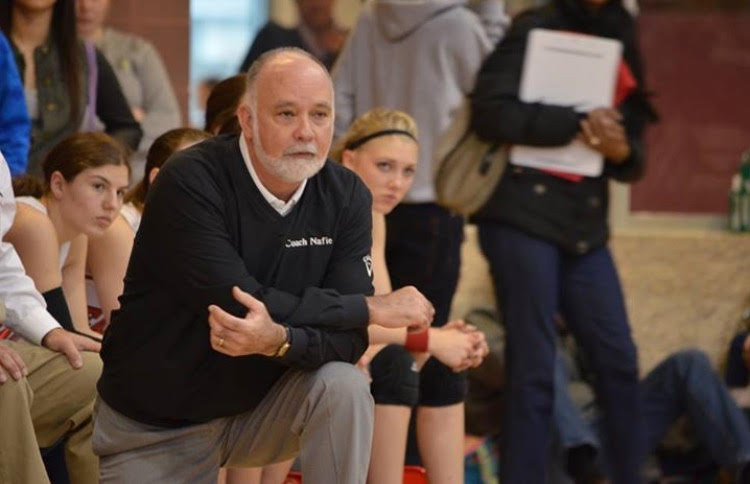 Matt Nafie coaches the CAYA girls' varsity team one last time