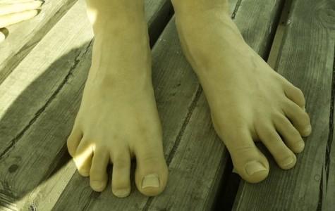 Happy Little Life: Go barefoot