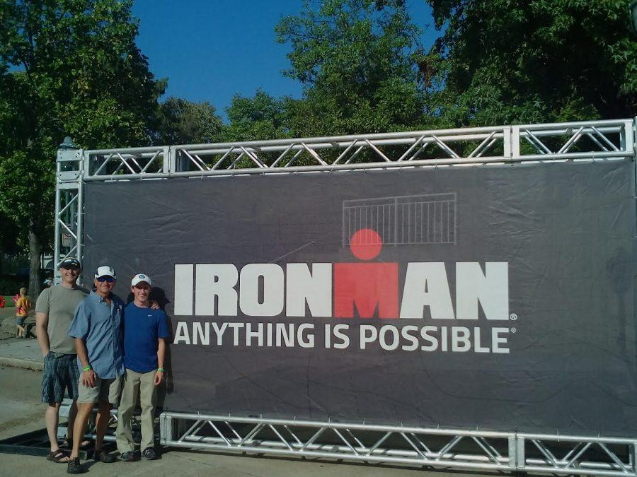 Devin Vaudreuil competes in Chattanooga Ironman