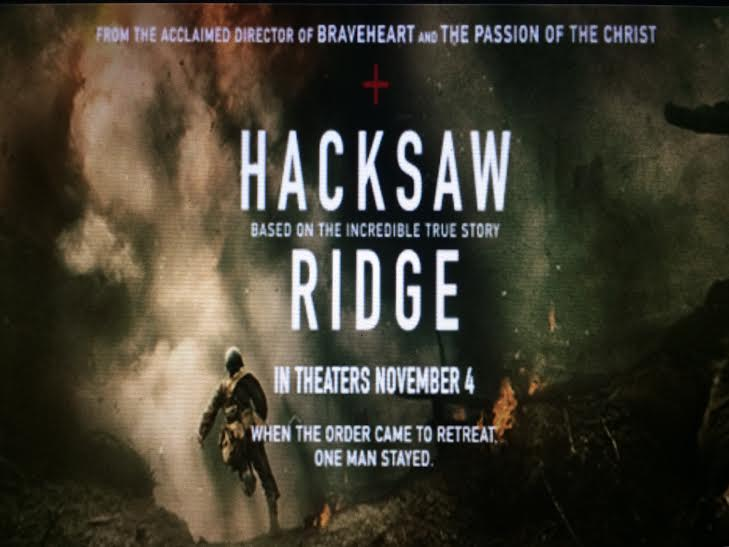 Hacksaw Ridge hits theaters